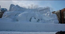 Incredible snow sculptures Part 1